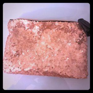 BRAND NEW Gold Sparkled Makeup Bag